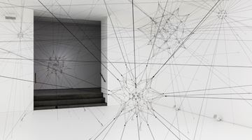 Contemporary art exhibition, Tomás Saraceno, Algo-r(h)i(y)thms at Esther Schipper, Berlin