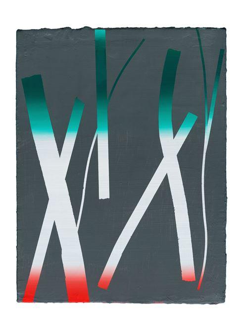 Ex Ex running after Ex why by Henriette Grahnert contemporary artwork