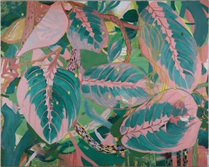 Plants whose name I cannot remember by Yo Okada contemporary artwork painting