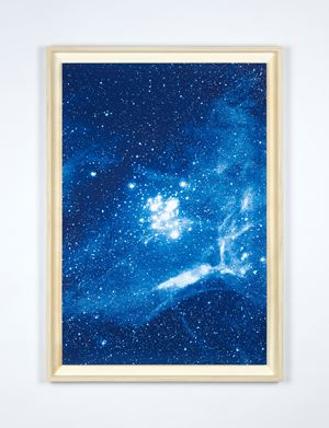 Cosmorama - Recording (NGC 3293) by Hugo Deverchère contemporary artwork