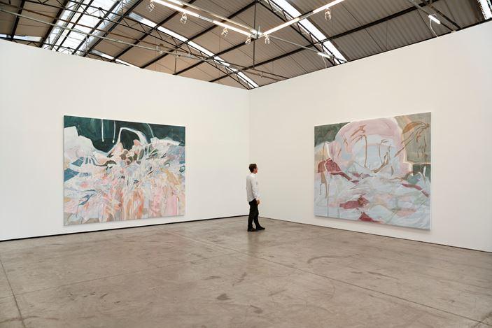 Exhibition view: Janaina Tschäpe, Mapping the Unattainable, Fortes D'Aloia & Gabriel, Galpão, São Paulo (3 August–28 September 2019). Courtesy Fortes D'Aloia & Gabriel, São Paulo/Rio de Janeiro.Photo: Eduardo Ortega.