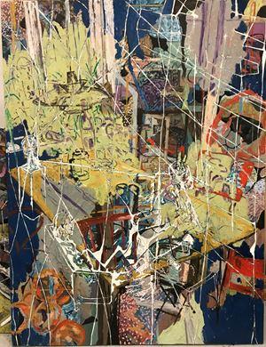 At the psycologist by Kaspar Bonnén contemporary artwork