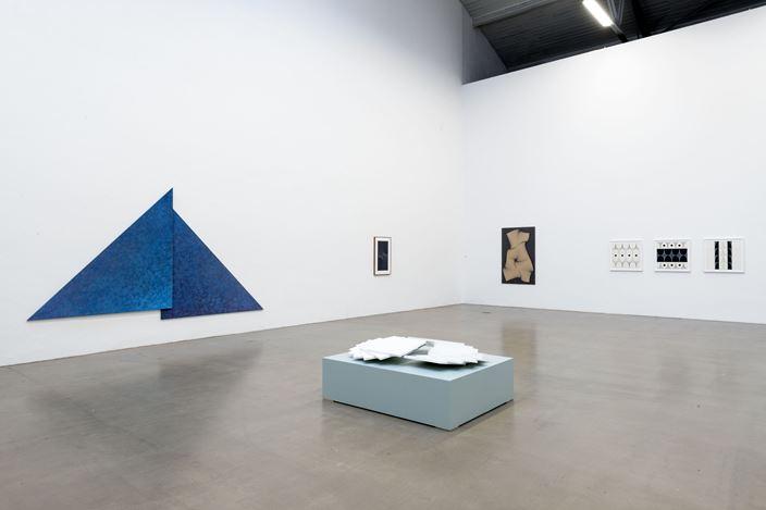 Exhibition view: Karl-Heinz Adler, Galerie EIGEN + ART, Leipzig (3 November–21 December 2018). Courtesy Galerie EIGEN + ART. Photo: Uwe Walter.