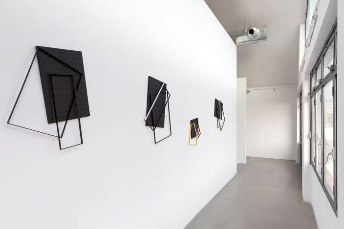 Exhibition view:Grazia Varisco,Hosting Space, M77, Milan (19 November–29 February 2019). Courtesy M77. Photo: Lorenzo Palmieri.