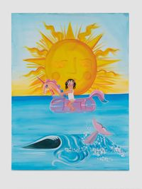 Nothing New Under the Sun by Oh de Laval contemporary artwork painting