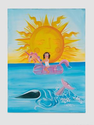 Nothing New Under the Sun by Oh de Laval contemporary artwork