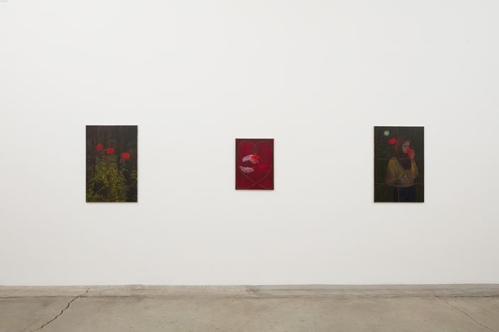 Exhibition view: Srijon Chowdhury, A Divine Dance, Anat Ebgi, Los Angeles (2 November–14 December 2019). Courtesy Anat Ebgi.