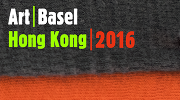 Contemporary art exhibition, Art Basel Hong Kong 2016 at Galerie Krinzinger, Vienna