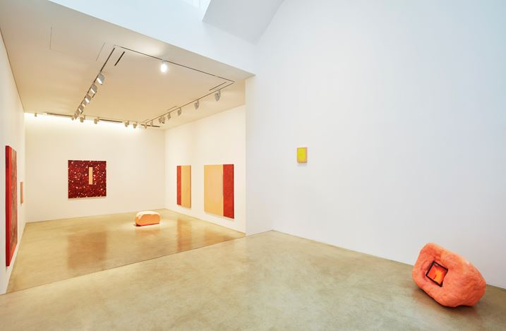 Exhibition view: Min ha Park, Sun Gone, One and J. Gallery, Seoul (4 April–4 May, 2019). Courtesy One and J. Gallery. Photography: Euirock Lee.