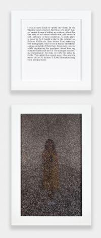 Autobiographies (Concession) by Sophie Calle contemporary artwork sculpture