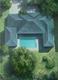 Untitled (Pool 3) by Melanie Siegel contemporary artwork painting