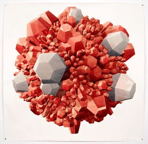 Rubi y Concreto by Dagoberto Rodríguez contemporary artwork