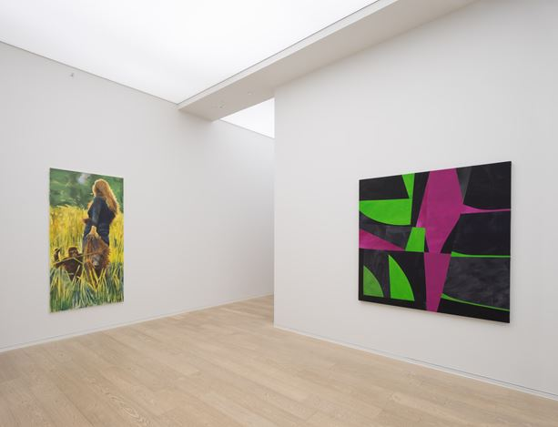Exhibition view: Mauvaises Herbes, Simon Lee Gallery, Hong Kong (28 April–27 May 2017). Image courtesy Simon Lee Gallery.