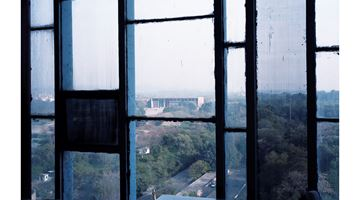 Contemporary art exhibition, Takashi Homma, Looking through - Le Corbusier windows at Taro Nasu, Tokyo