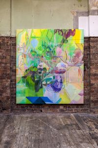 Sleep Line by Victoria Morton contemporary artwork painting