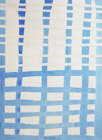 Mente (Madrid) by Jürgen Partenheimer contemporary artwork works on paper