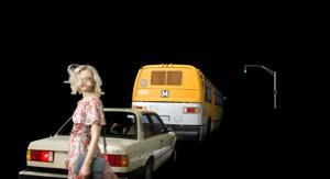 Hawkins Street by Alex Prager contemporary artwork