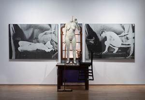 The model by Edward Kienholz and Nancy Reddin Kienholz contemporary artwork