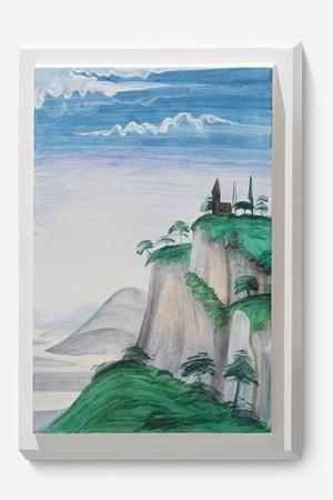 Landscape Portrait-Ghirlandaio 02 A by Dong Dawei contemporary artwork painting