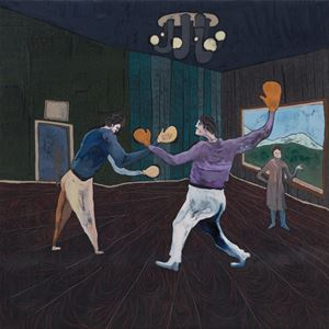 Boxing Lessons by Pierre Knop contemporary artwork