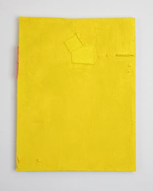 Untitled (bright yellow) by Louise Gresswell contemporary artwork