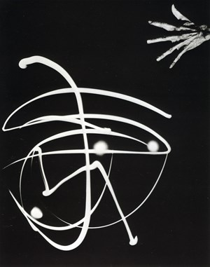 Pure Energy and neurotic Man by Barbara Morgan contemporary artwork