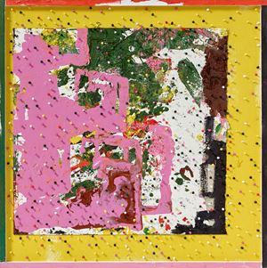 punta de chroores by Tal R contemporary artwork