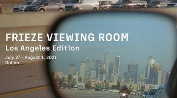 Contemporary art art fair, Frieze LA Online at Gagosian, 980 Madison Avenue, New York, USA