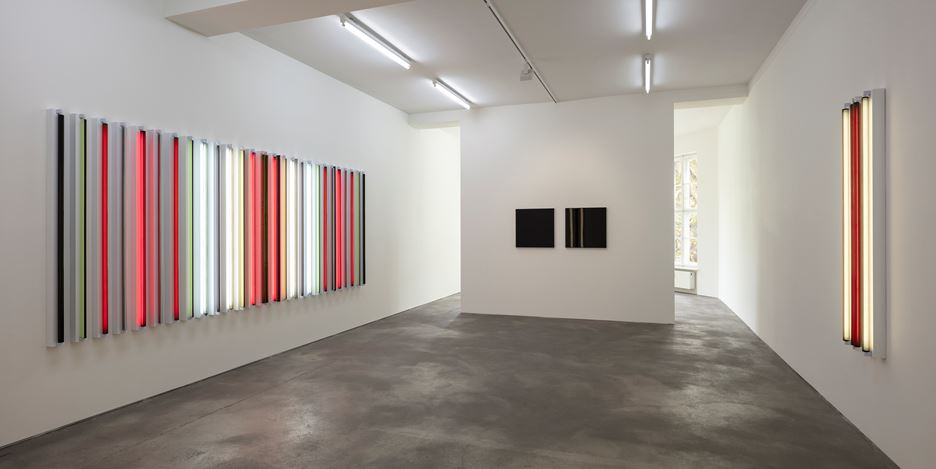 Exhibition view: Robert Irwin, Sprüth Magers, Berlin (29 September–10 November 2018). Courtesy Sprüth Magers