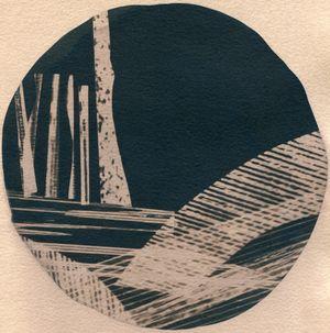 Sticks 2 by Corinne De San Jose contemporary artwork