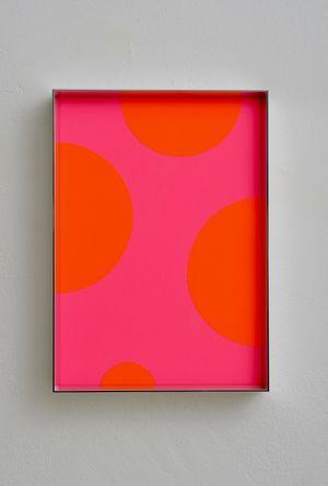 Fluo cut #13 by Regine Schumann contemporary artwork