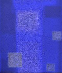 IN BLUE Apr'18 by Katsuyoshi Inokuma contemporary artwork works on paper, drawing
