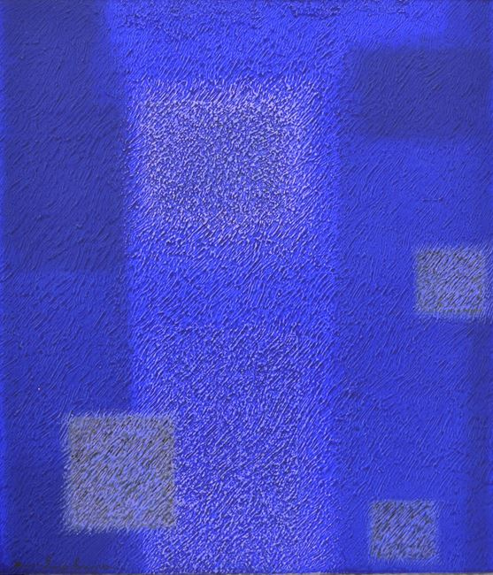 IN BLUE Apr'18 by Katsuyoshi Inokuma contemporary artwork