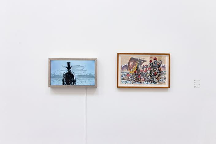 Exhibition view: Group Exhibition,White Flash, ShanghART, Beijing (5 August–31 August 2018). Courtesy ShanghART.