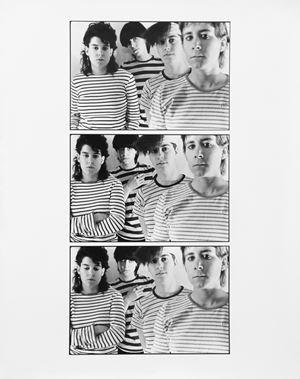 Striped Shirts by Moyra Davey contemporary artwork
