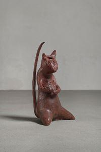 Maus mit Schwanz by Leiko Ikemura contemporary artwork sculpture