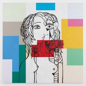 Untitled by George Condo contemporary artwork
