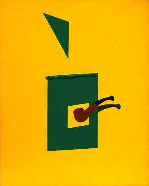 Pipe & Blind by Patrick Caulfield contemporary artwork