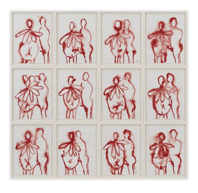 The Family I by Louise Bourgeois contemporary artwork