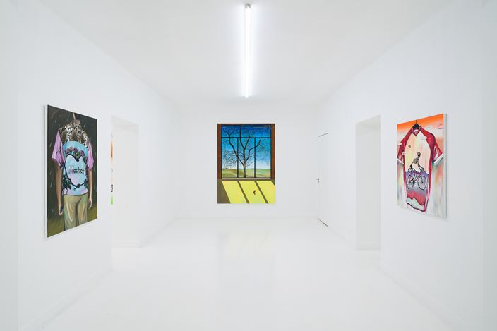 Exhibition view: Yan Xinyue, Summer Mist, Capsule Shanghai (August 12–September 26, 2020). Courtesy Capsule Shanghai.