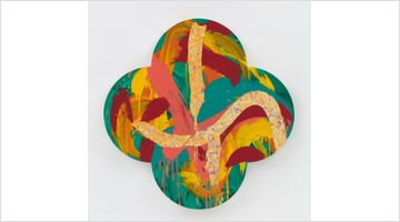 Contemporary art exhibition, Max Gimblett, The Sun Also Rises at Page Galleries, Wellington, New Zealand