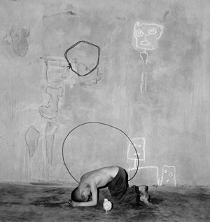 Invitation by Roger Ballen contemporary artwork