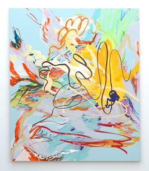 Pale Kings Blue by Wang Xiyao contemporary artwork