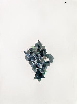 Study by Amina Ahmed contemporary artwork