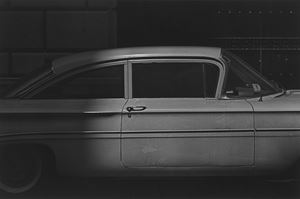 White car and dots by Roy DeCarava contemporary artwork