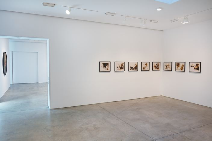 Exhibition view: Group Exhibition, American Landscape, Lehmann Maupin, New York (15 March–1 May 2018). Courtesy the artists and Lehmann Maupin. Photo: Matthew Herrmann.