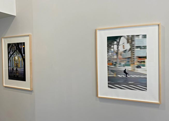 Exhibition view: Sean Hemmerle, My City Recently Removed,Galerie Julian Sander, Cologne (20 November 2020–9 April 2021). Courtesy Galerie Julian Sander.