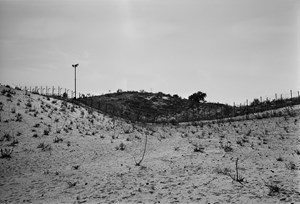 India - Pakistan boundary, from the series 'Places, Traces' by Gauri Gill contemporary artwork