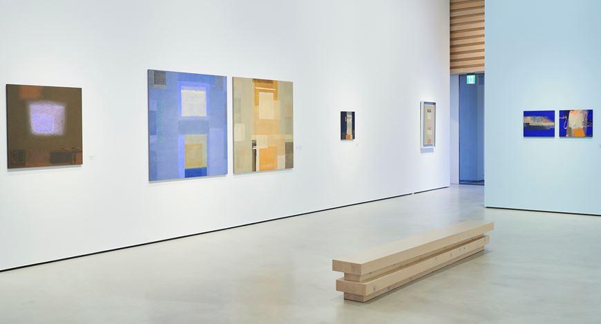 Exhibition view: Katsuyoshi Inokuma, Cerulean Blue,Whitestone Gallery, Taipei (28 November 2020–17 January 2021). Courtesy Whitestone Gallery.