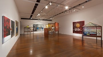 Contemporary art exhibition, Brook Andrew, Smash It at Roslyn Oxley9 Gallery, Sydney, Australia